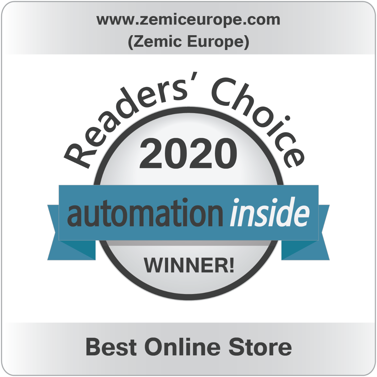 Automation Inside Award 2020