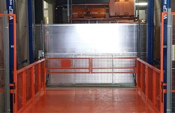 WEP-Weisshaupt uses Zemic loadpins in material lifts