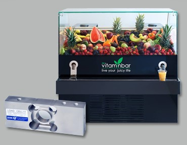 My Vitaminbar integrates Zemic Europe stainless steel BM6A sensors