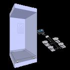 Aufzug-Wägesystem: Kabine
