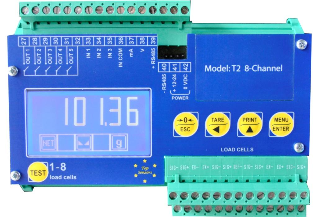 Top-Sensors T2 8-Channel