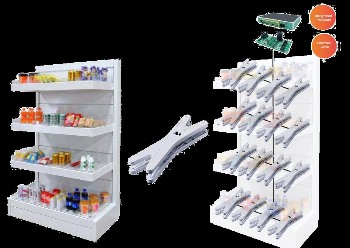 Intelligent load shelves