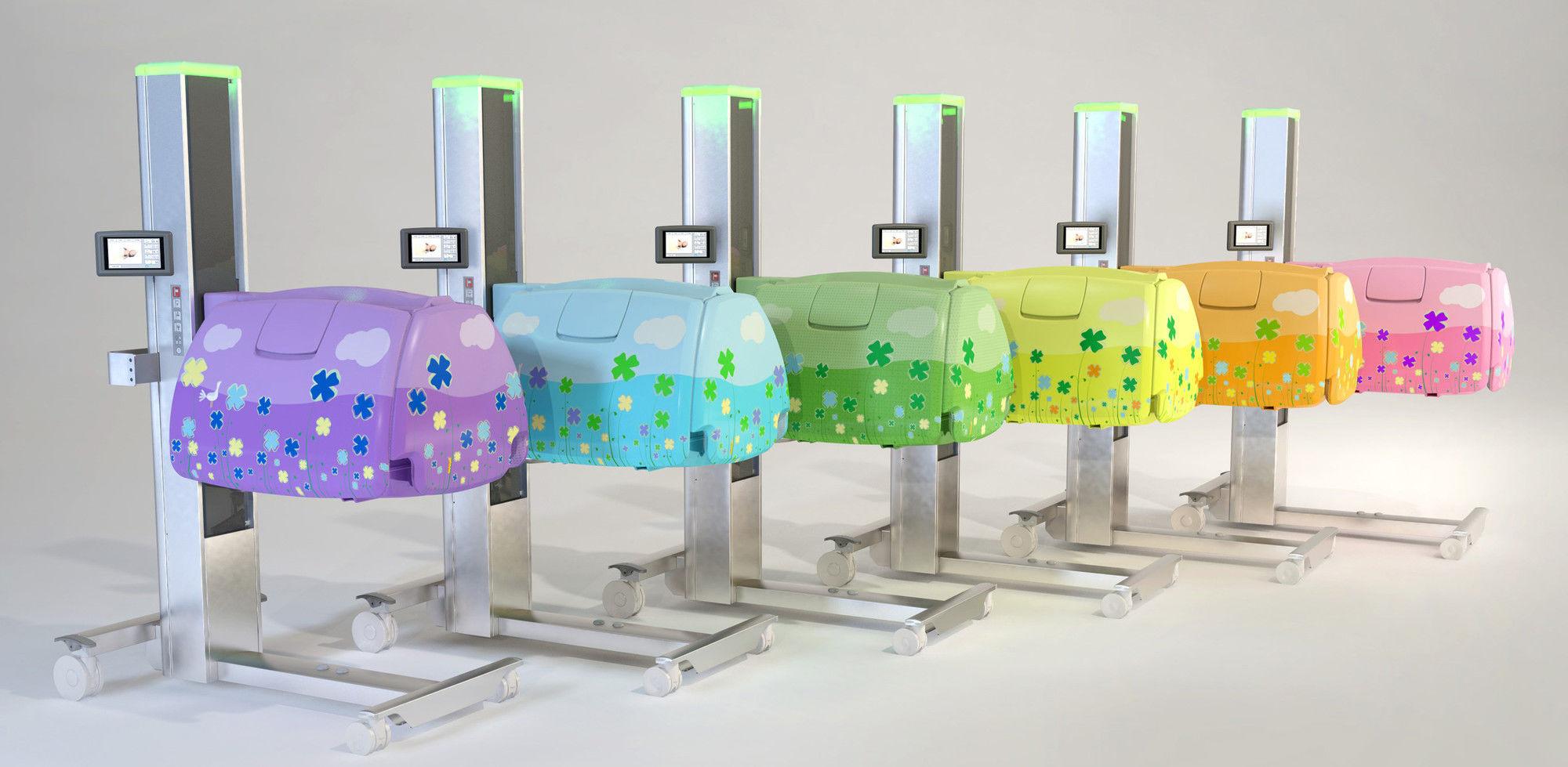Incubator babybloom force sensors