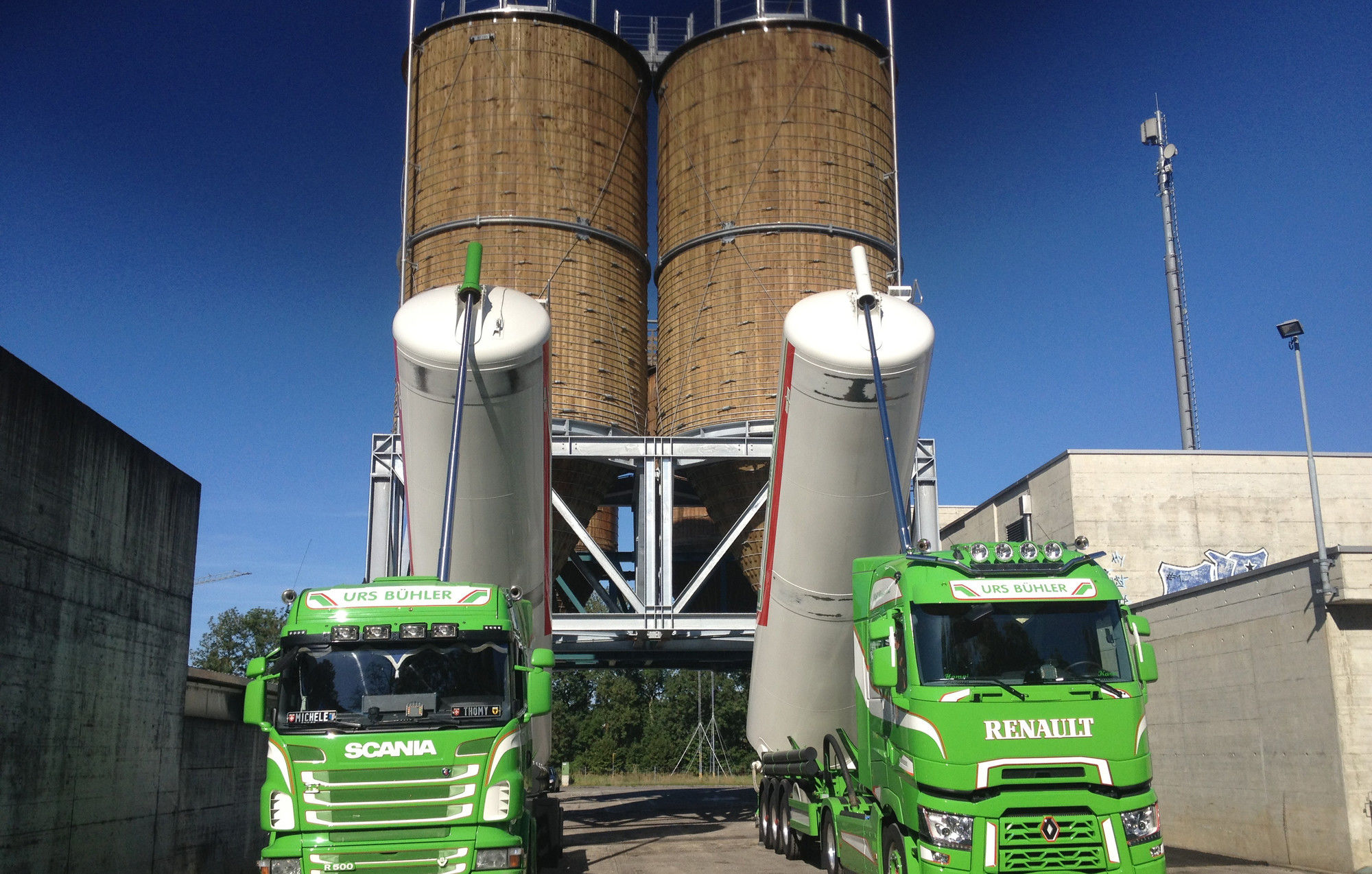 Silo weighing with BM24R