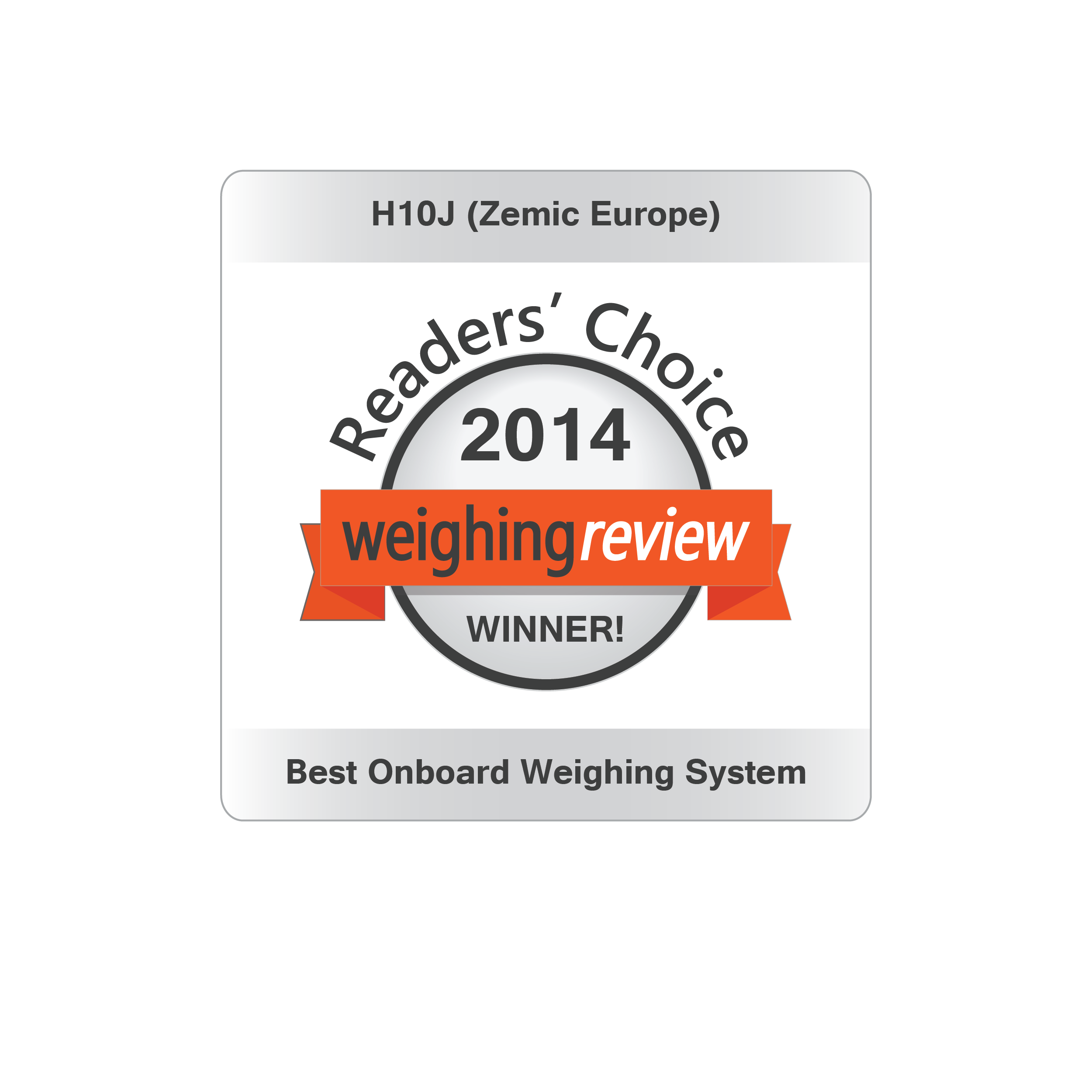 best onboard weighing solution 2014