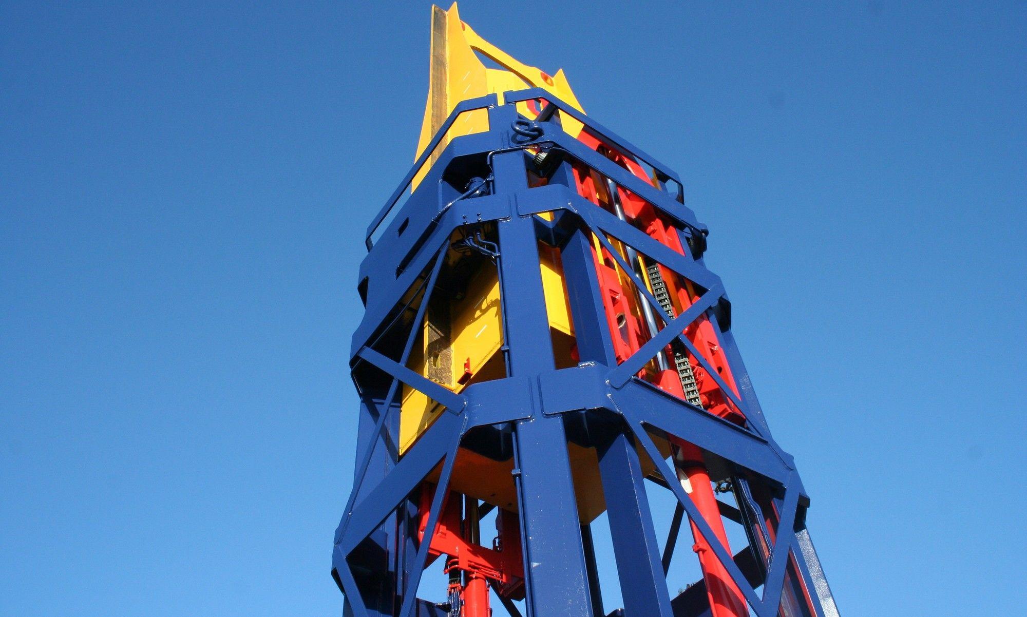 Cape Holland Shockload measurement